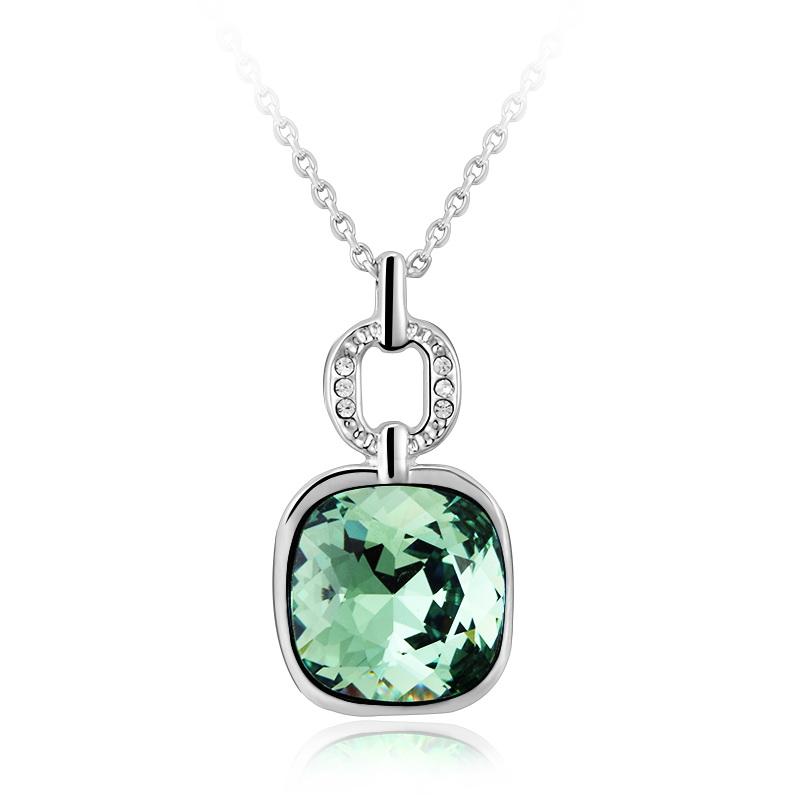 Swarovski Crystal Necklace Green