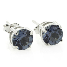 Alexandrite Stud Earrings