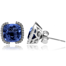 Alexandrite Color Change High Quality Silver Earrings