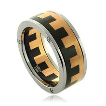 Havana Stainless Steel Men's Ring