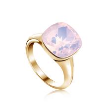 Pink Swarovski Crystal Ring