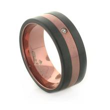 Barraca Two Tone Titanium Men´s Ring