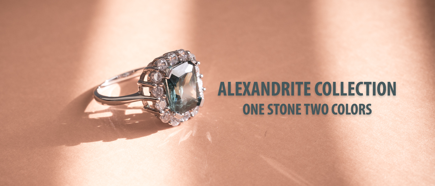 Alexandrite Jewelry Collection