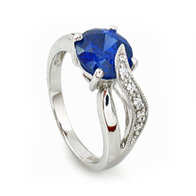 Elegant Tanzanite Ring in 9.25 Silver