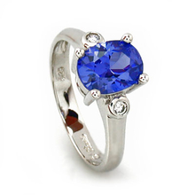 Tanzanite Fashion Ring in Sterling Silver