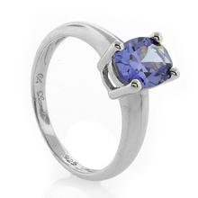 Tanzanite Silver Ring