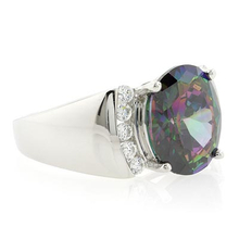Smoked Topaz .925 Sterling Silver Ring