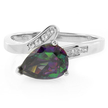 Solitaire Smoked Topaz Sterling Silver Ring
