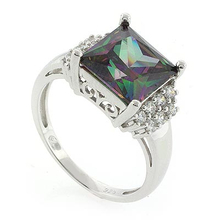 Smoked Topaz Gemstone .925 Sterling Silver Ring