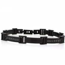 Havana Stainless Steel Black Bracelet