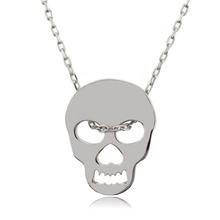 Sterling Silver .925 Skull Pendant