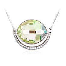 Collar con Cristales Swarovski Color Verde