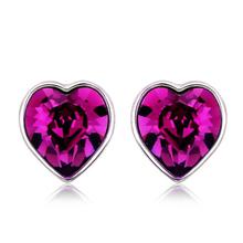 Aretes Swarovski en Forma de Corazón