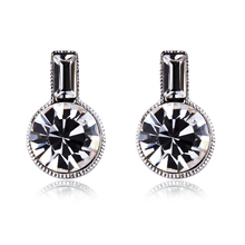 Swarovski White Earrings Bottle Shaped
