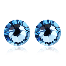 Incredible Blue Swarovski Earrings