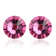 Incredible Pink Swarovski Earrings
