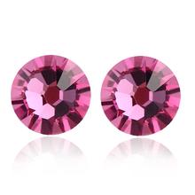 Incredible Pink Swarovski Earrings