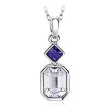 Pretty White Swarovski Crystal Necklace