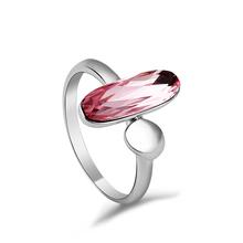 Ring Swarovski Crystal Seed Rosa