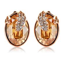Gold Vermeil Swarovski Earrings
