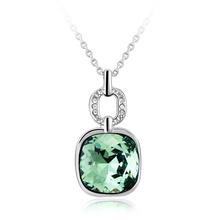 Collar de Cristal Swarovski Color Verde