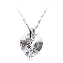 Corazón de Cristal Swarovski en Collar