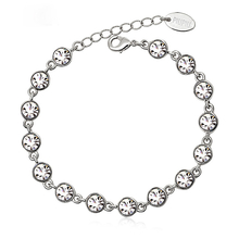 Beautiful White Swarovski Crystal Bracelet