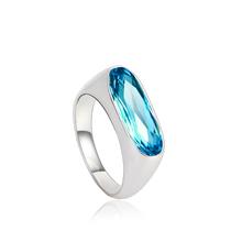 Hermoso Anillo de Swarovski Color Azul