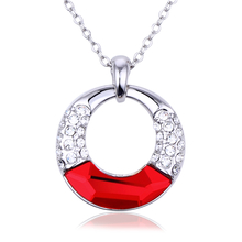 Red Swarovski Beautiful Necklace