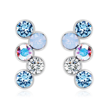 Swarovski Earrings in Shades of Blue