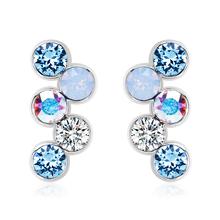 Swarovski Earrings in Shades of Blue