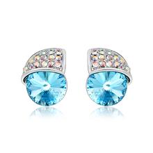 Aretes de Cristal Swarovski Azul