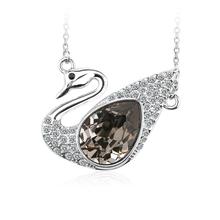 Collar de Cisne de Cristal Swarovski