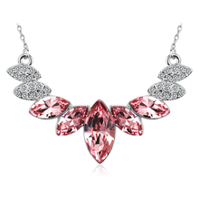 Collar Cristales Rosas Swarovski