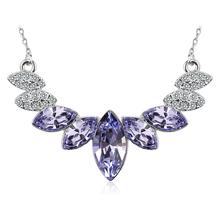 Collar Lavanda de Cristales Swarovski