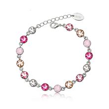 Beautiful Pink Crystal Bracelet