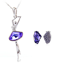 Pretty Necklace and Earring Set