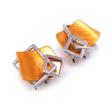 D'Manis Silver Fashion Earrings
