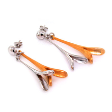 D'Manis .925 Sterling Silver Fashion Earrings