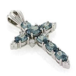 Alexandrite Silver Earrings
