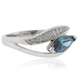 Marquise Cut Alexandrite Silver 925 Ring