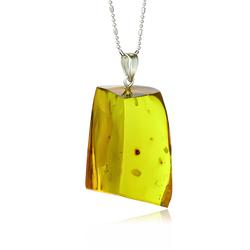 Genuine Natural Amber Pendant