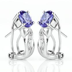 Tanzanite Earrings