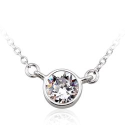 Swarovski White Crystal Necklace