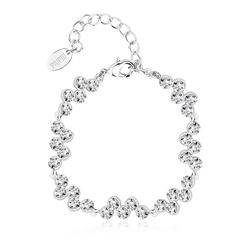 High Quality White Swarovski Crystal Bracelet