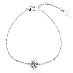 Swarovski Bracelet with White Crystal