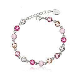 Beautiful Rose Crystal Bracelet