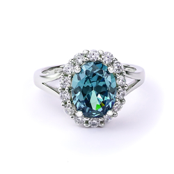 Alexandrite Ring Changes Color