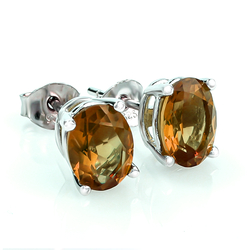 Sterling Silver Zultanite Stud Earrings