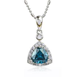 Alexandrite Pendant Necklace 925 Silver
